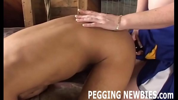 Forced, Strapon, Pegging, Strapon anal, Femdom strapon