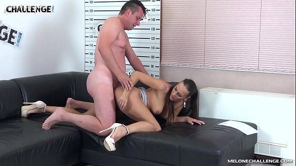 Agent, Casting anal, Melons, Czech casting anal