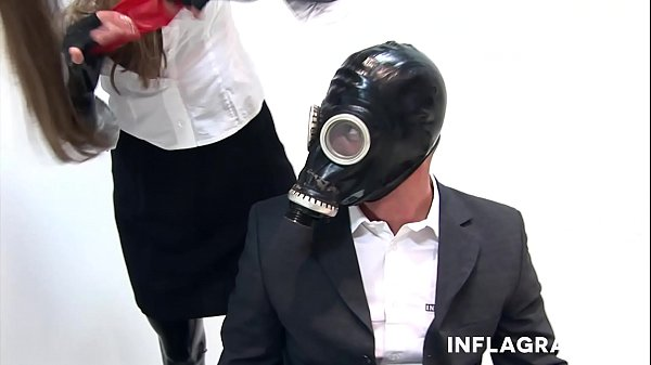 Secretary, Secretaries, Masked, Mask, Big clit