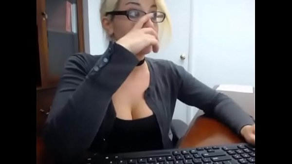 Secretary, Glasses, Secretaries, Masturbating