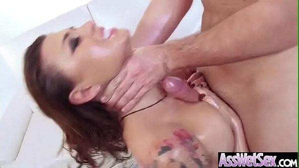 Oil, Eva angelina, Big butt anal