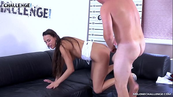 Oral creampie, Melons, Czech casting, Cum in pussy