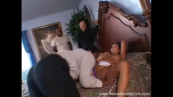 Cougar, Interracial threesome, Housewife