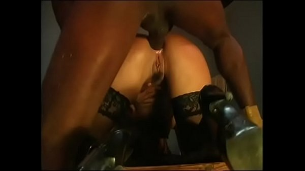 Mandingo, Double penetration, White on black, Mandingo anal, Girl, Double black