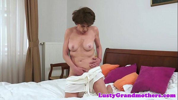 Saggy mature, Granny interracial