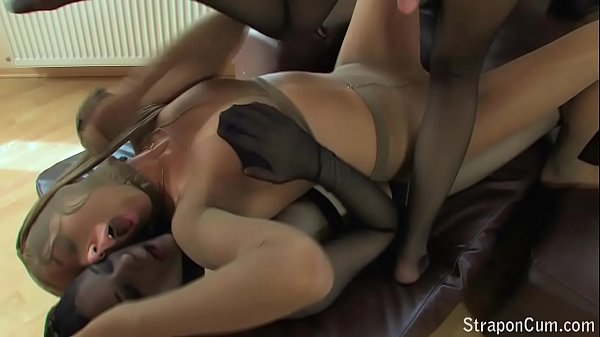 Strapon, Double penetration, Kink, Strapon anal, Anal pantyhose